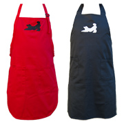 Aprons with Poodle