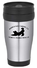 Poodle Day Stainless Steel Travel Tumbler